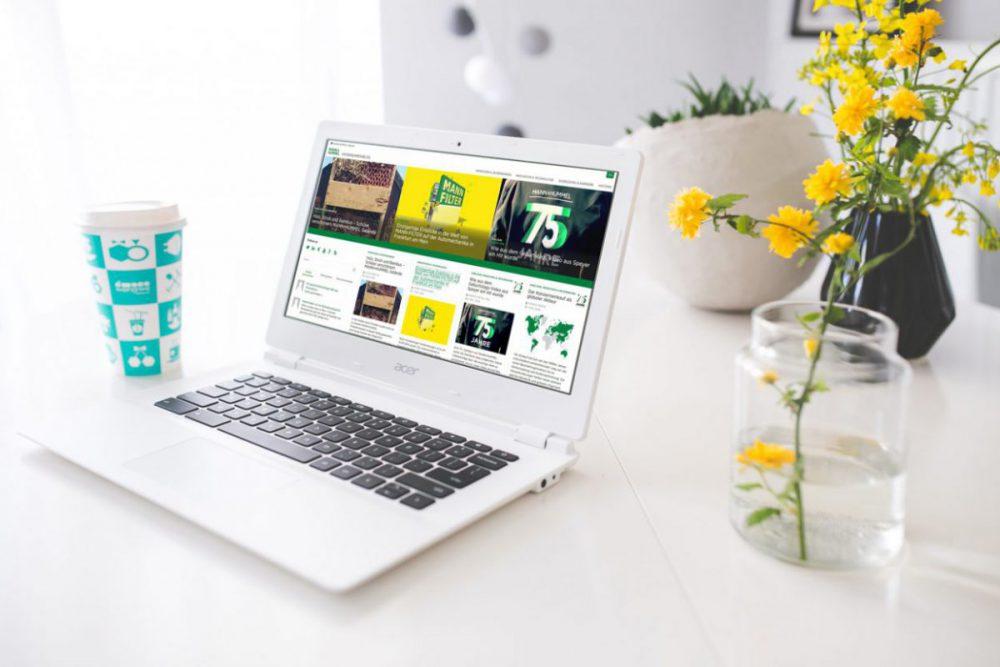Das Thema meiner Masterarbeit: Entwicklung eines Redaktionsleitfadens für die externe Online-Kommunikation der Mann+Hummel GmbH