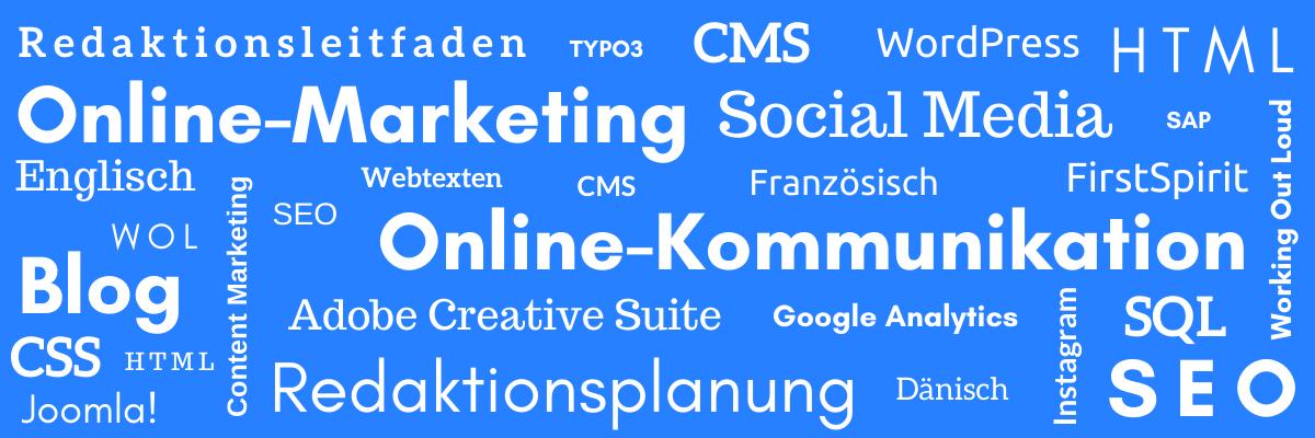 Über Vera Eisenbraun: Online Marketing, Online Kommunikation, SEO, Redaktionsplanung, Unternehmensblog, Redaktionsleitfaden, CMS
